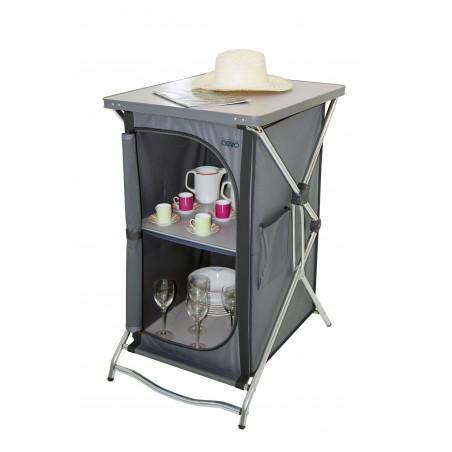 Crespo AL-103 2 estantes - Armario cocina plegable