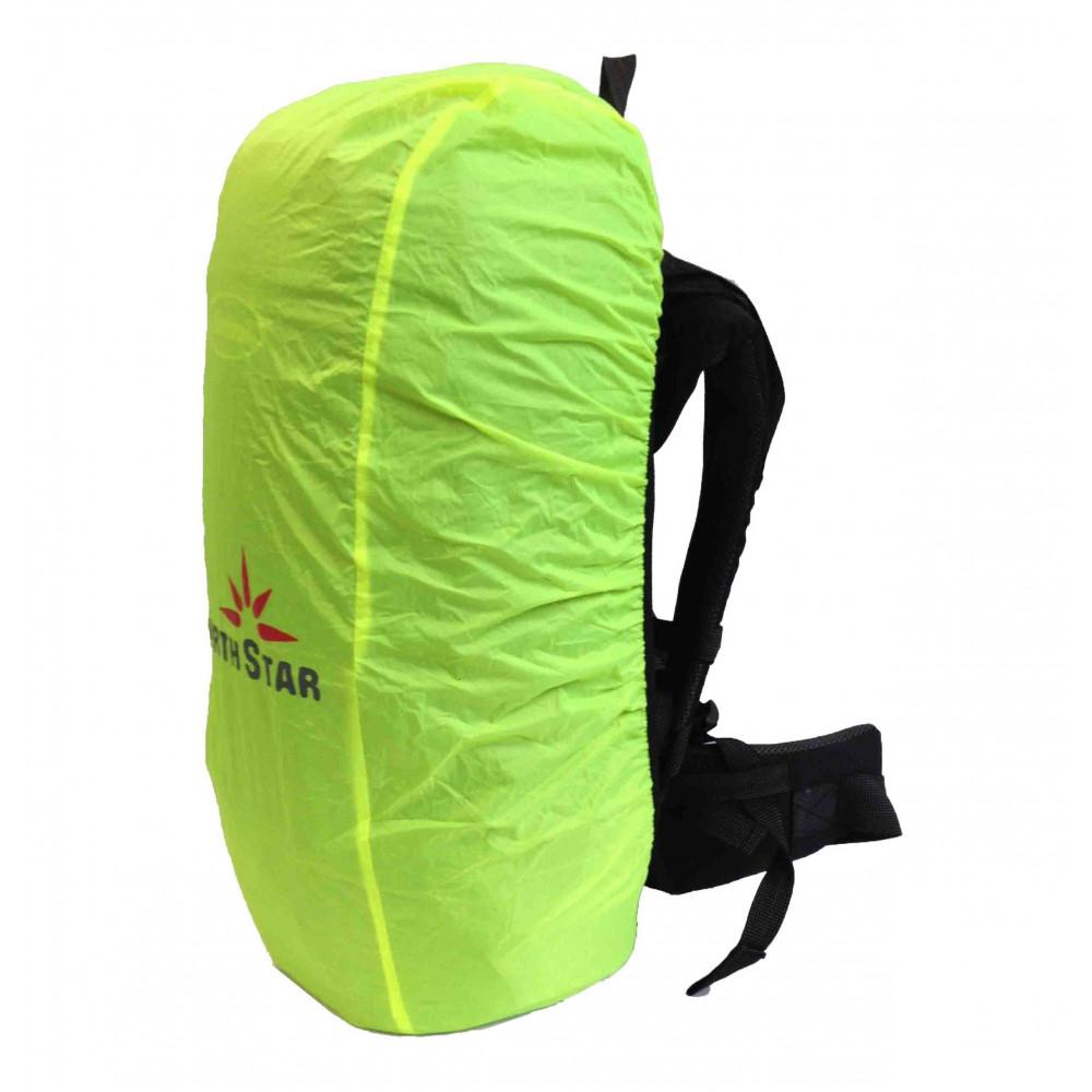 North Star CUBREMOCHILAS 65L para mochila de trekking - fluor