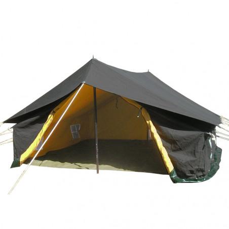 Tienda de campaña de algodón PATRULLA 4X4 con doble techo e interior – verde camu