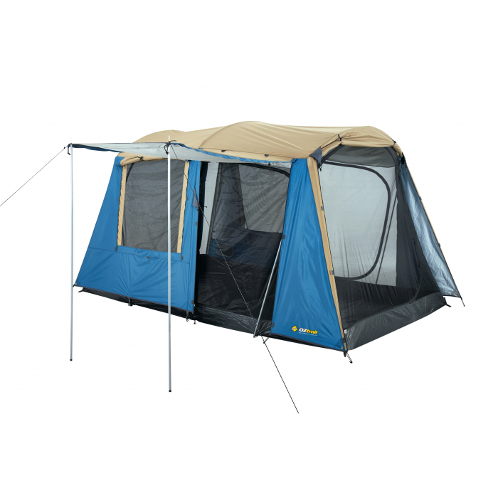 Tienda de campa a oztrail sundowner dome tent 6p camping for Piscinas familiares desmontables