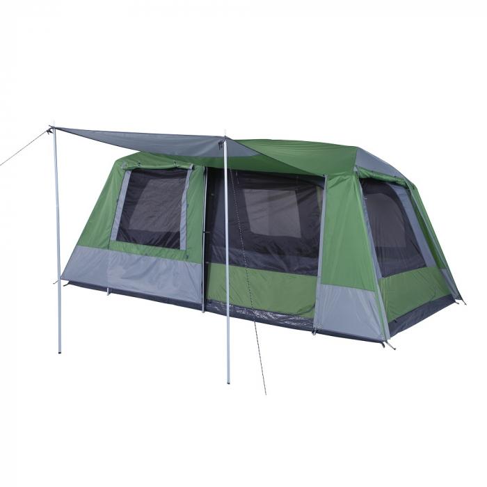 Tienda de campa a oztrail sportiva 8 dome tent 8p for Piscinas familiares desmontables