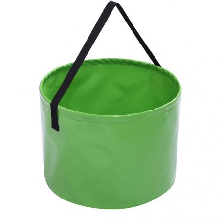 Cubo plegable impermeable OZtrail FLAT PACK BUCKET JUMBO 24L - verde