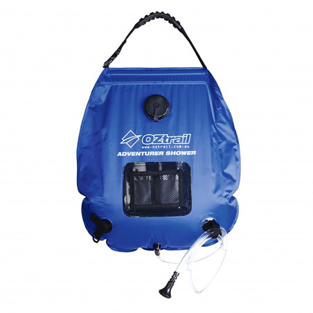 Ducha portátil OZtrail ADVENTURER SOLAR SHOWER 20L - azul