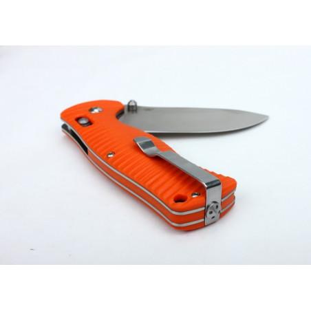 Navaja plegable de bolsillo Ganzo G720 acero – naranja