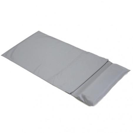Sábana para saco de dormir con funda almohada OZtrail LINNER COTTON YHA 350 G - gris