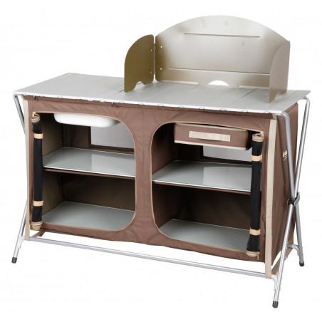 Mueble cocina plegable OZtrail DELUXE 4 ESTANTES