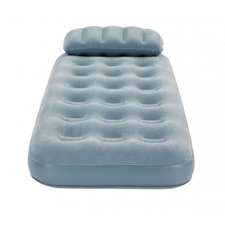 Colchón hinchable individual Campingaz SMART QUICKBED™ SINGLE con almohada - Gris