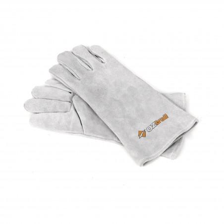 Par de guantes de cuero para cocinar o jardinería OZtrail LEATHER GLOVE SET