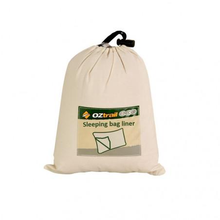 Sábana para saco de dormir OZtrail LINNER COTTON STD 270 g - gris