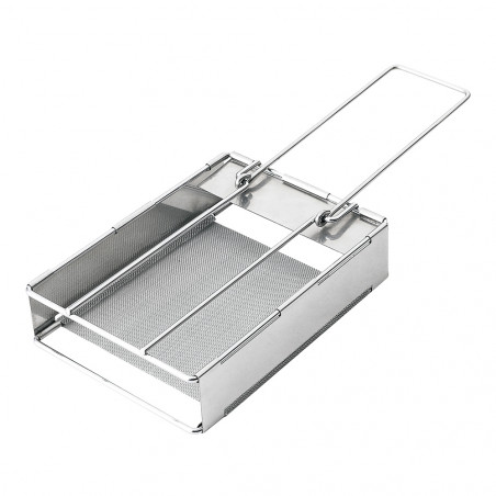 Tostador plegable XL OZtrail STAINLESS STEEL TOASTER FOLDING JUMBO – acero inoxidable