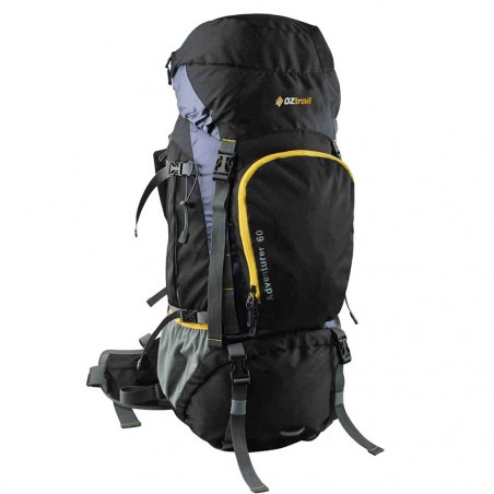 Mochila de trekking OZtrail ADVENTURER HIKING PACK 60L - marrón