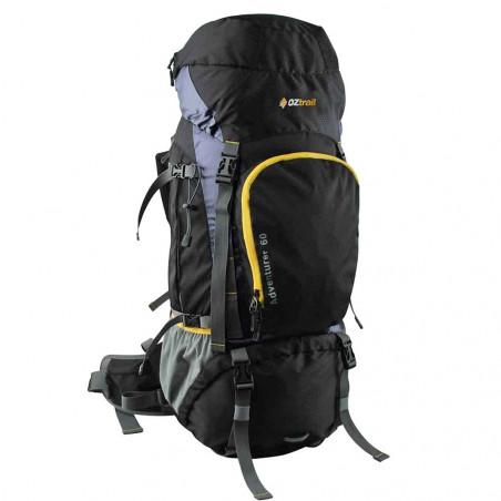Mochila de trekking OZtrail ADVENTURER HIKING PACK 60L - marrón