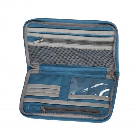 Portadocumentos de viaje OZtrail DOCUMENT WALLET – azul