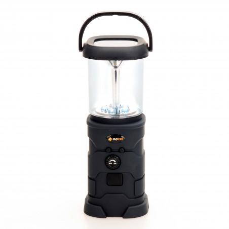 Lámpara de camping dinamo OZtrail SURVIVAL LED RECHARGE LANTERN 100 lumenes