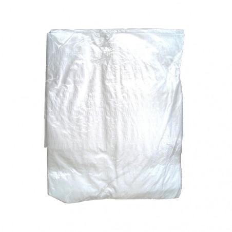 Suelo de camping - LONA DE RAFIA 3,6 X 5,4 - blanca