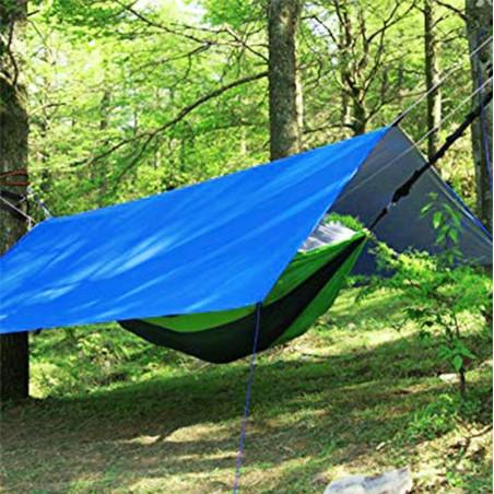 Suelo de camping - Lona de Rafia 3,6 x 5,4 m - blanca