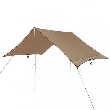Toldo techo para sombra OZtrail HIKER FLY - marrón