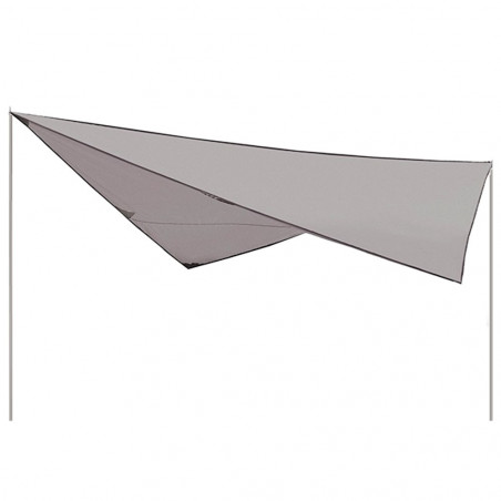 Toldo lona chillout High Peak TARP 3x3 m - gris
