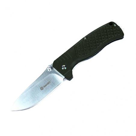 Navaja plegable de bolsillo Ganzo F722 KNIFE acero – negra