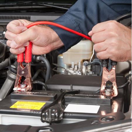 Pinzas batería de coche OZtrail 12V EXTENSION LEAD doble toma mechero