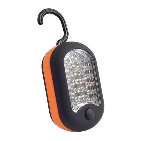Linterna COLGANTE 27 LEDS - naranja