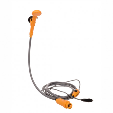 Ducha portátil eléctrica OZtrail 12V SHOWER para coche - amarilla