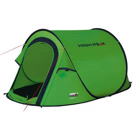 Tienda de campaña High Peak Vision 2P – verde