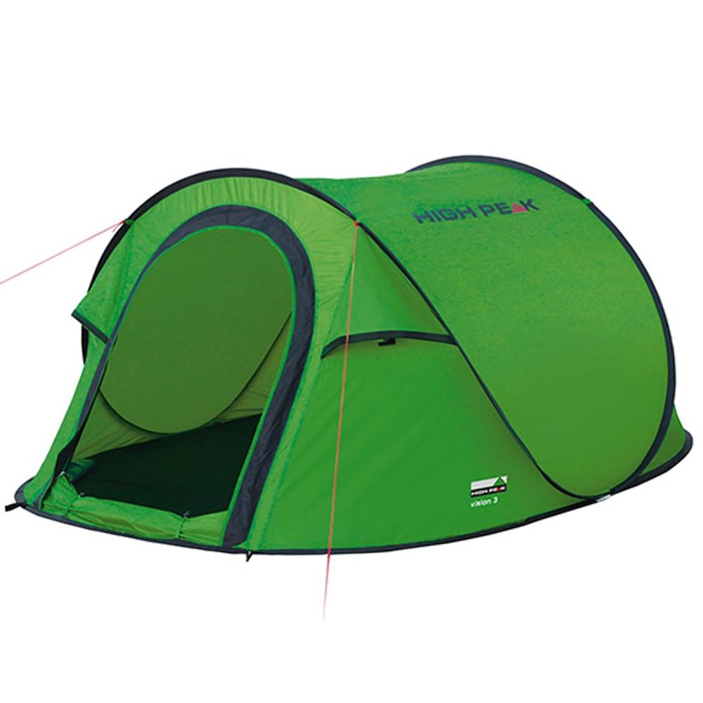 Tienda de campaña High Peak Vision 3P – verde