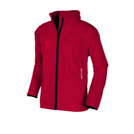 Chaqueta cortavientos Mac in a sac ADULTO - rojo