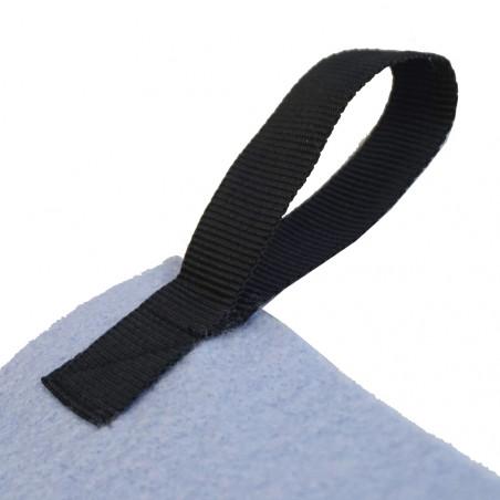 Toalla de manos Hosa HAND TOWEL 50 X 100 CM con colgador - celeste