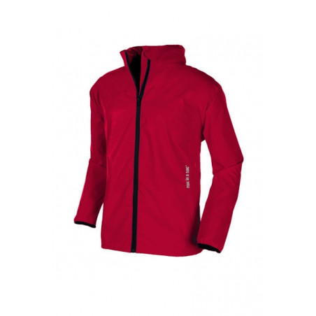 Chaqueta cortavientos Mac in a sac JUNIOR - rojo