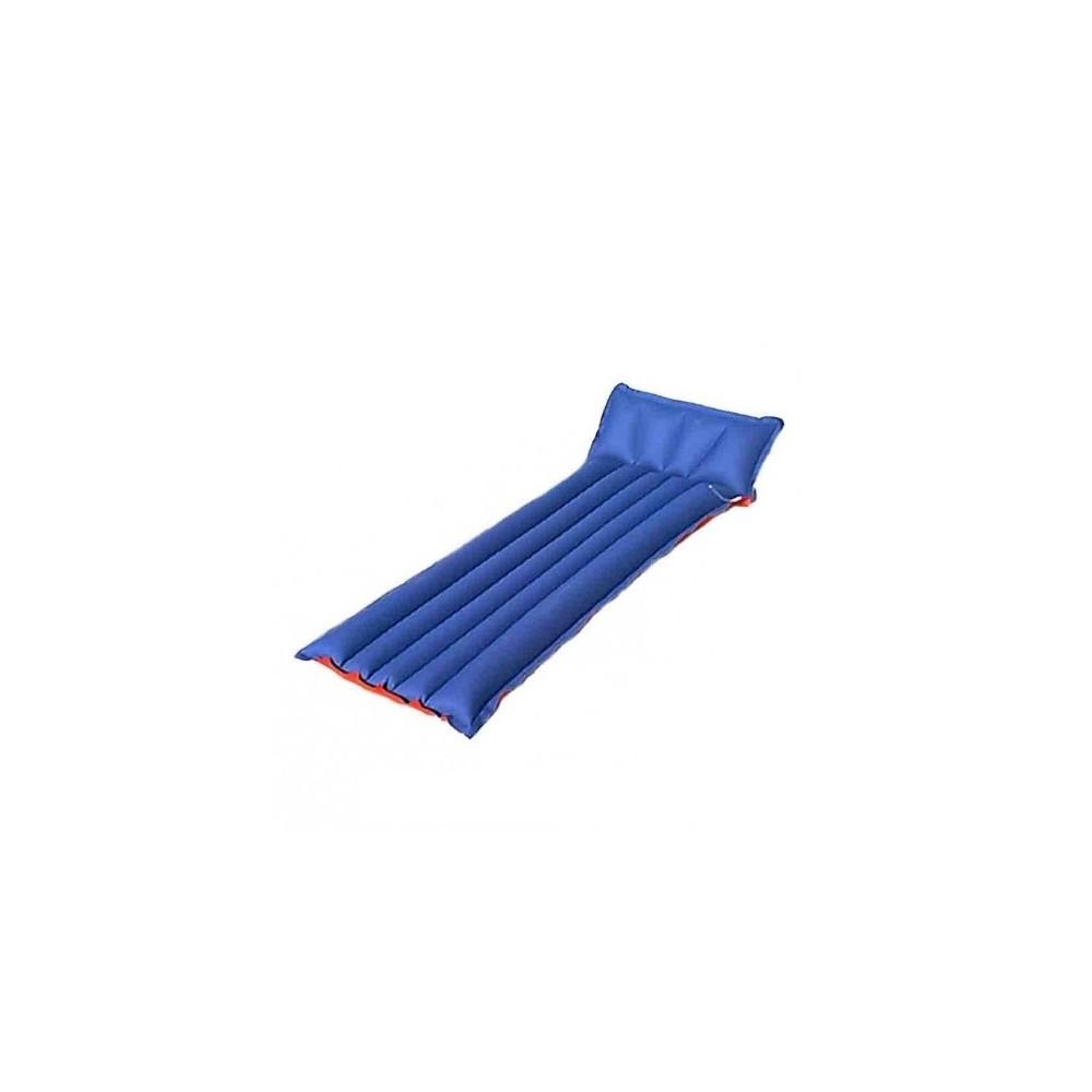 Colchón hinchable PLAYA 5 TUBOS - azul y rojo
