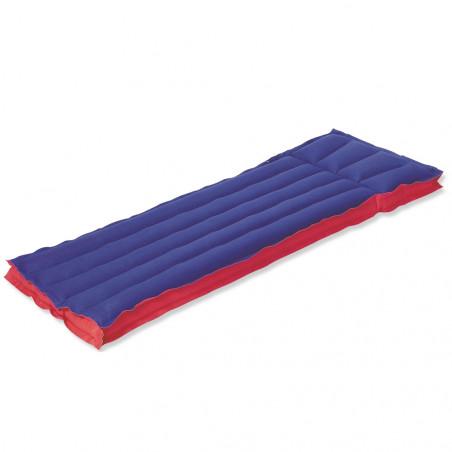 Colchón hinchable PLAYA INDIVIDUAL - azul y rojo
