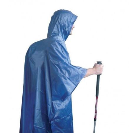 Poncho impermeable de lluvia Setmil PONCHO CUBREMOCHILAS - azul