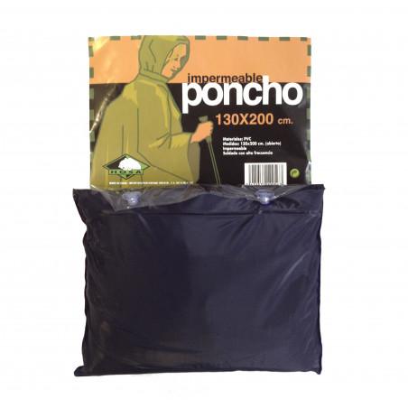 Poncho de PVC Hosa RAIN PONCHO - azul