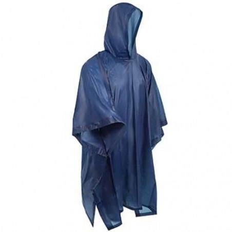 Poncho impermeable de lluvia Hosa PVC RAIN PONCHO - azul