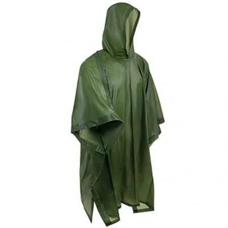 Poncho impermeable de lluvia Hosa PVC RAIN PONCHO - verde