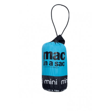 Chaqueta cortavientos Mac in a sac JUNIOR - turquesa