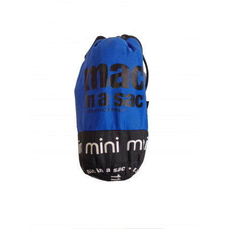 Chaqueta cortavientos Mac in a sac JUNIOR - azul