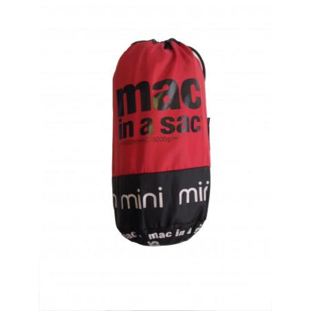 Chaqueta cortavientos Mac in a sac JUNIOR - rojo