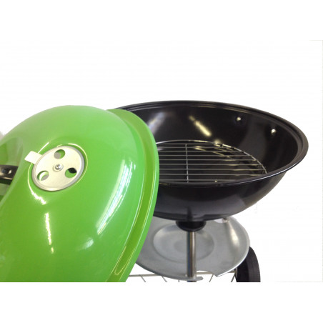 Barbacoa redonde Hosa CAMP BBQ - verde