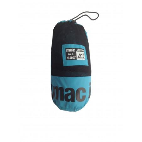 Chaqueta cortavientos Mac in a sac ADULTO - Turquesa