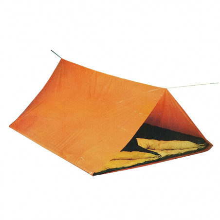 Tienda refugio de emergencia TUBE TENT - naranja