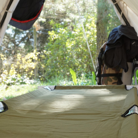 Cama plegable campamento Hosa CAMP BED - verde