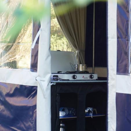 Tienda cocina Hosa FLORIDA 250 - 2,5 X 1,5 M con tapas