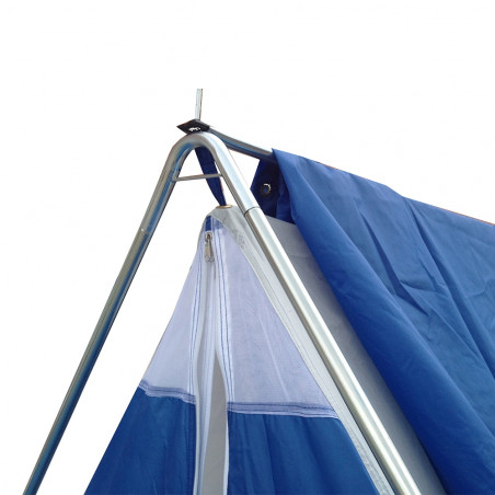 Tienda de campaña Hosa CANADA 6 nylon - azul