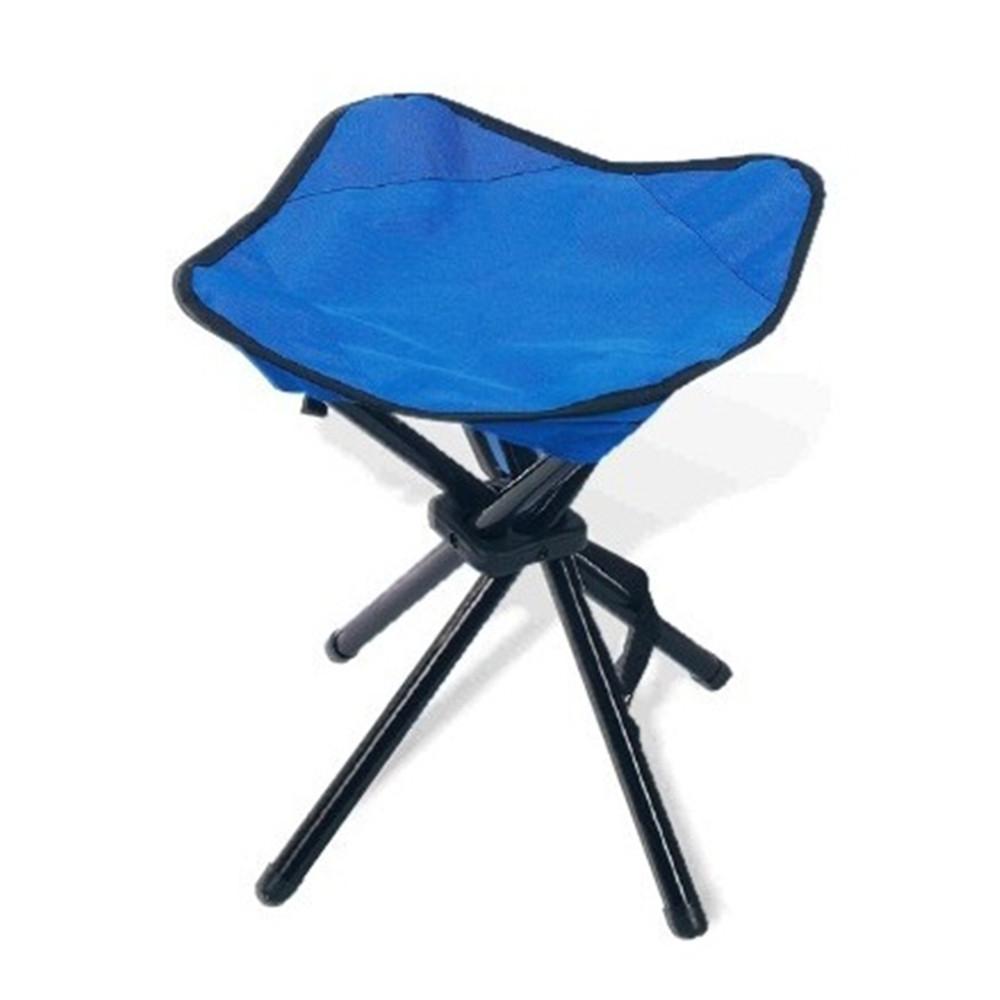 Taburete plegable Hosa ACERO - azul