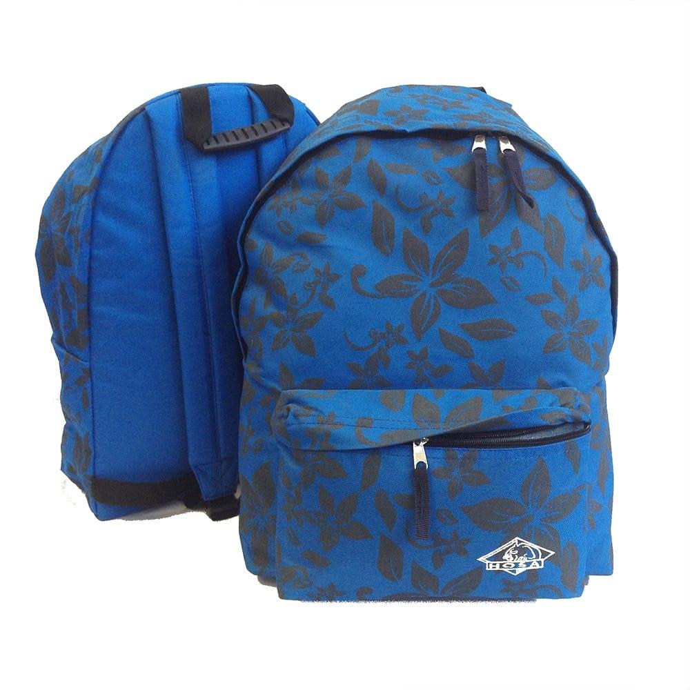 Mochila HOSA Daypack FLORES - azul