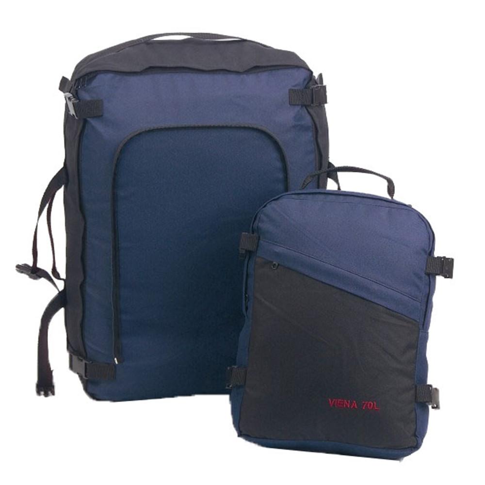 Mochila de viaje Hosa VIENA 70 - violeta