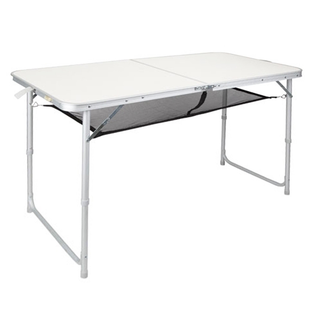 Mesa plegable OZtrail RECTANGULAR doble gris